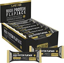 Matrix Nutrition High Protein Flapjack Box 24 A 75g Best Sports Nutrition Muscle Mass Gain Whey Bars Estimated Price : £ 19,99