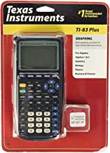 $69 » Texas Instruments TI-83 Plus Graphing Calculator (Renewed)
