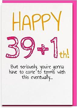 Geburtstag 40 lustig frau Die 6