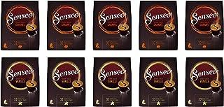 Senseo Dosettes á café Aromatisées, pack variété 2 Saveurs: Caramel et Vanille - Lot de 10 (320 Dosettes)