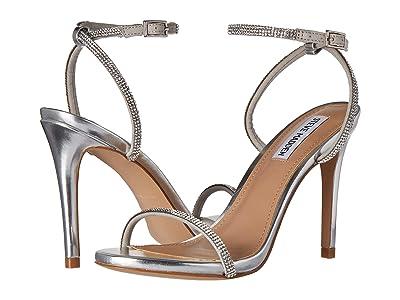 Steve Madden Festive Heeled Sandal (Silver) Women