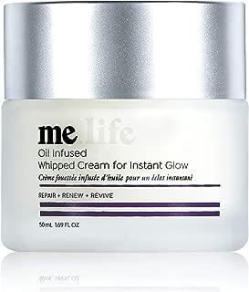 me.life Hemp based Whipped Face Cream all in one elixir for healthier, happier skin