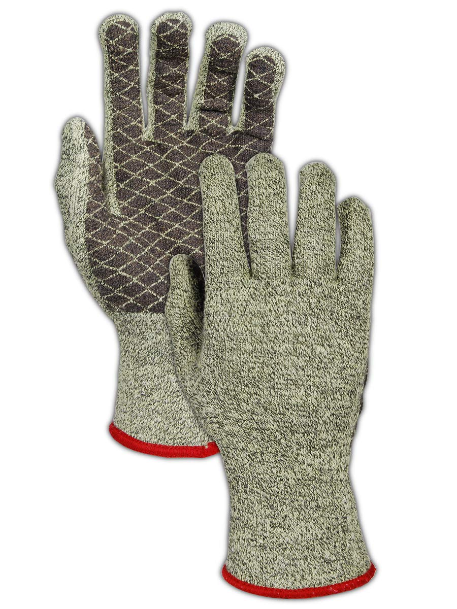 MAGID AX120958 CutMaster Aramax XT Ranking TOP15 PVC Glove Le Knit Coated Cut We OFFer at cheap prices