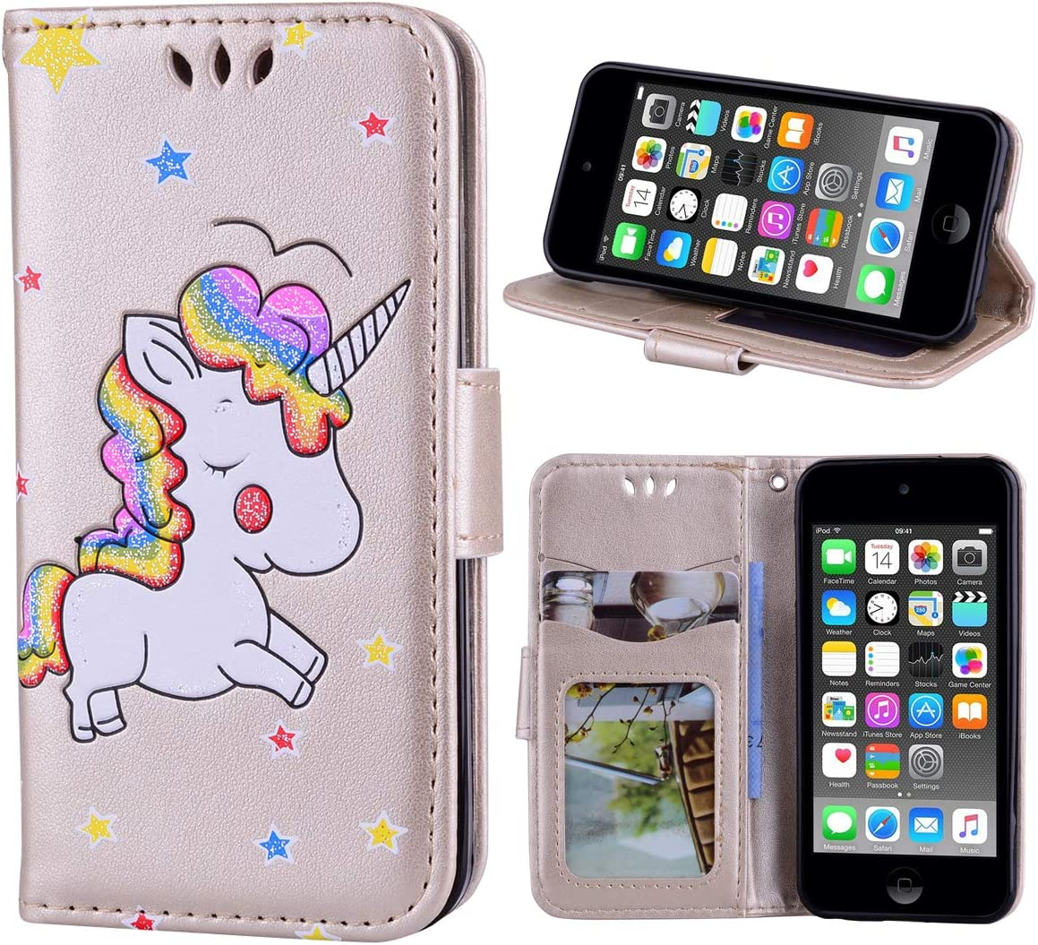 quality assurance Wallet Case for iPod Touch 6 7 Stan Cover case Leather PU flip Special Campaign