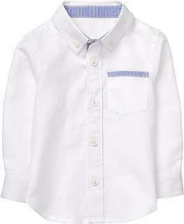 Baby Boys Long Sleeve Button Up Shirt