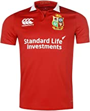 Official Brand Canterbury British and Irish Lions Jersey 2017 Mens T Shirt Rugby Red Top