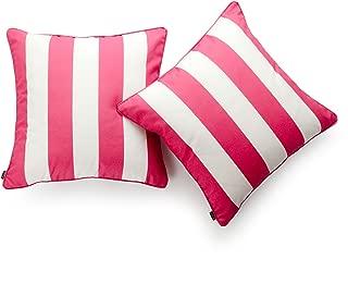 hot pink sunbrella pillows