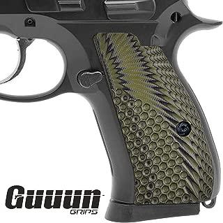 Guuun Brand CZ75 Compact Grips G10 OPS Texture fit CZ P-01 Canik 55 P100 C100 T100 PCR CZ85 Compact