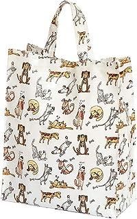 comprar comparacion Bolsa de la Compra, Reutilizables con Divertido Diseño de Perros, 40 cm x 32 cm x 13 cm, Regalo para las Mujeres y los Ama...