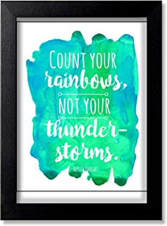 Blue Nexus Motivational Inspirational Wall Poster with Wall Frame Wall Stickers Room Art Poster Painting (Get 25% Off on B...