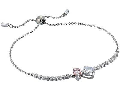 Swarovski Attract Soul Bracelet (CZ Fancy Morganite/Pink) Bracelet