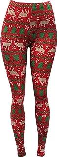 Women's Premium Butter Soft Holiday Patterned Leggings
