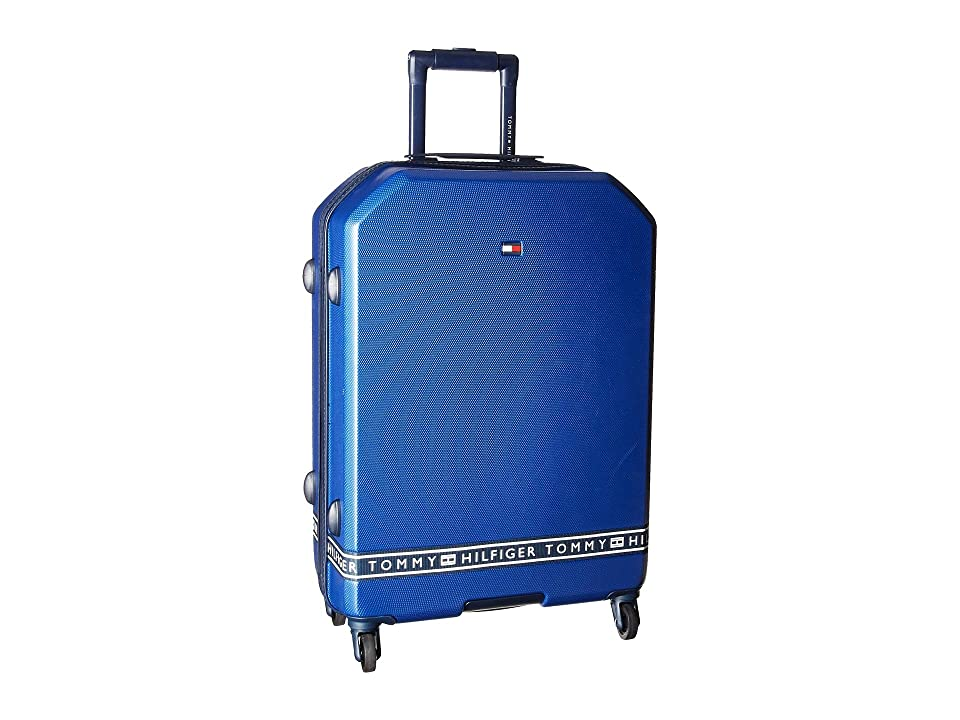 Tommy Hilfiger 25 Sneaker Sport Upright Suitcase (Royal) Luggage