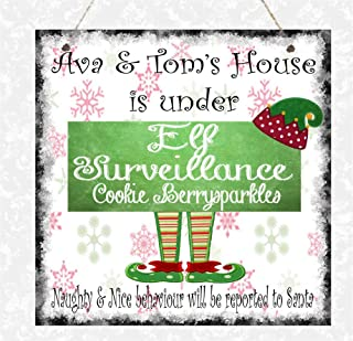 Best personalised family christmas sign Reviews