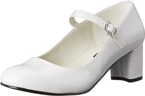 Pleaser Schoolgirl 50, Closed-Toe Pumps & Heels Femme