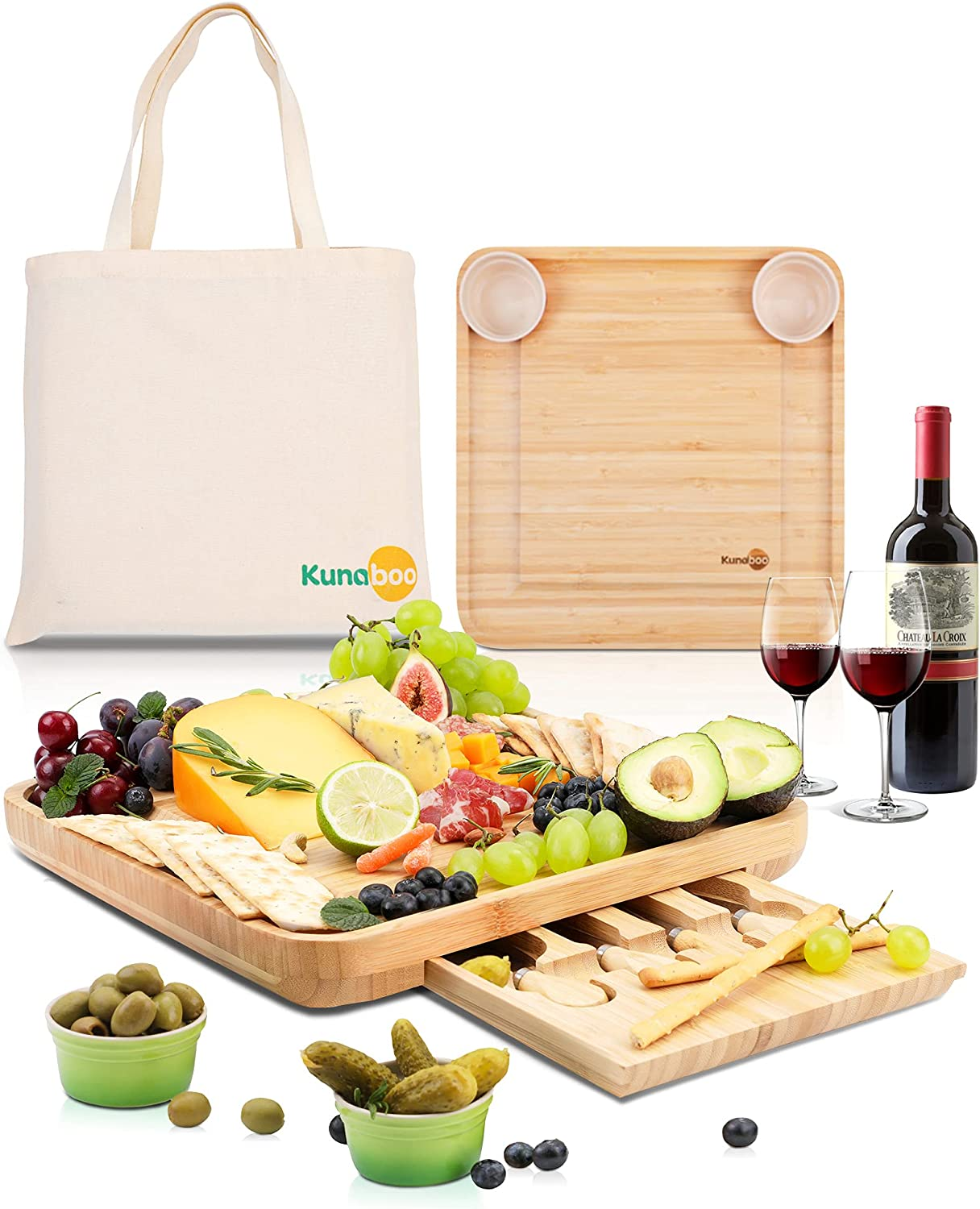 Kunaboo Cheese Board with Avocado Great interest Green bowls Max 63% OFF FSC - certified