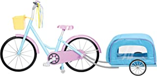 """Kindred Hearts Dolls 18 """"Bicycle with Pet-Trailer (اختصاصی آمازون)"""