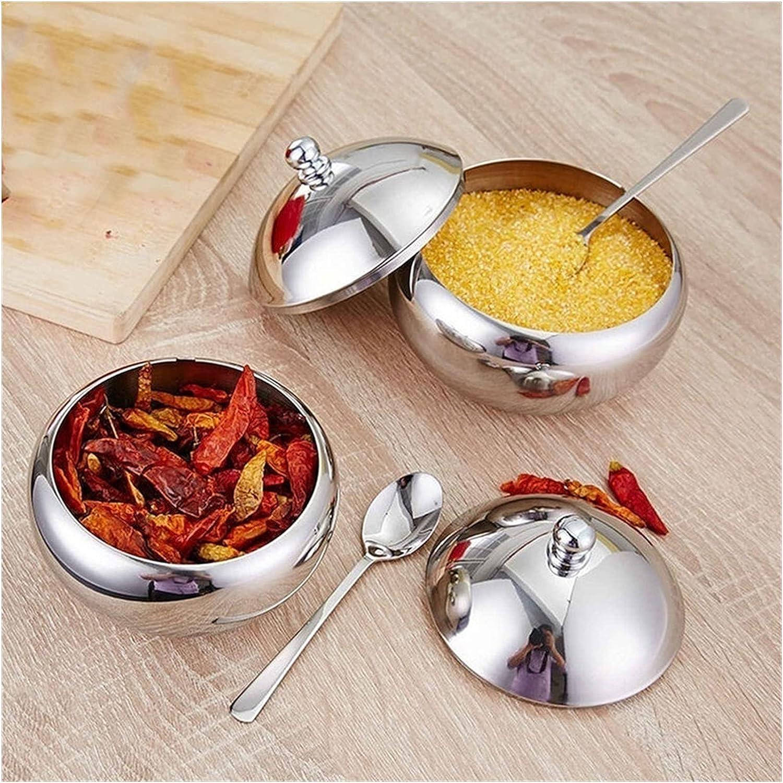 Suitable For Popularity Kitchen Utensils Stainless Max 62% OFF Seasoning Jar Su Steel