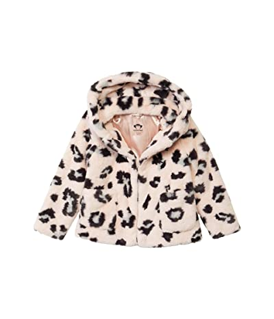 Appaman Adaptive Kids Cleo Faux Fur Coat (Little Kids/Big Kids) (Multi) Girl