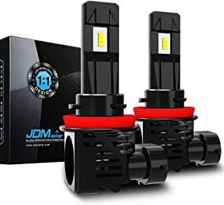 JDM ASTAR 12000 Lumens Extremely Bright 1:1 Design H11 H8 H16 All-in-One LED Headlight Bulbs, Fog Light Bulbs, Xenon White