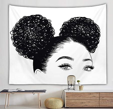 Black girl afro wallpaper