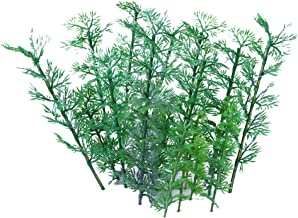 Ymeibe 50pcs Model Trees Miniature Landscape Plastic Bamboo Trees Model 2.5-5.9 inch 5 Scale 1:75 for Landform Diorama Project