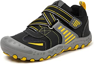 Mishansha Kids Hiking Shoes Boys Girls Outdoor Trail Walking Running Tennis Athletic Sneakers