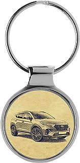 KIESENBERG Schlüsselanhänger Geschenke für Tucson TL N Line Fan A 5201