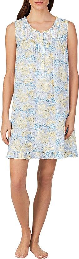 "36"" Short Sleeveless Nightgown"