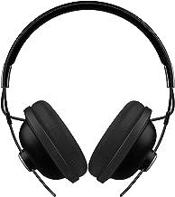 Panasonic RP-HTX80BE-K Bluetooth Kopfhörer (Kopfhörer Retro, 24 h Akkulaufzeit, Over-Ear, Quick-Charge, Sprachsteuerung) s...