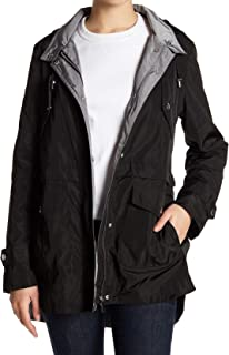 French Connection Womens Jacket Black US Size Small S Water-Resistant