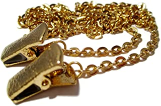 ATLanyards Gold Ovals Chain Eyeglass Holder, SELECT YOUR SIZE, glasses lanyard,