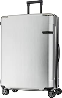 Samsonite Evoa 75Cm Spinner Brushed Silver - Suitcases - Suitcases