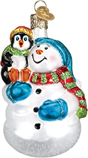 Best Old World Christmas Pengiun Collection Glass Blown Ornaments, Snowman With Penguin Pal Review