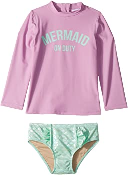 Mermaid On Duty Rashguard Set (Infant/Toddler)