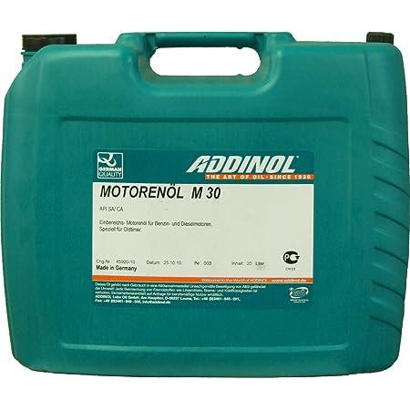 Addinol M50 Oldtimer MotorenÖl Sae Klasse 50 Viskosität 20 5 Mineralisch 20 L Kanister Auto