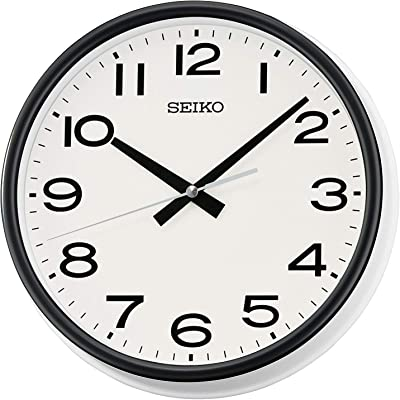 Seiko Clocks PARED Analog Quartz Wall Clocks of Plastic QXA645W