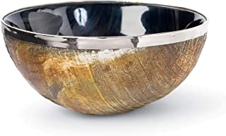 Regina Andrew Polished Horn and Brass 2-1/4