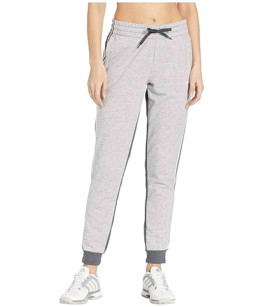 部族目を覚ます静める[adidas(アディダス)] レディースパンツ?ジャージ?レギンス Essential French Terry Pants Medium Grey Heather/Dark Grey Heather S [並行輸入品]