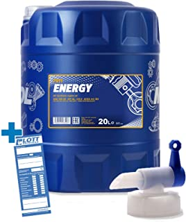 MANNOL 20L Energy 5W 30 Motorenöl API/SL 5W30 ÖL Motoröl + Auslaufhahn