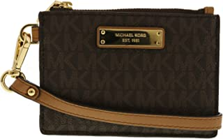 MICHAEL Michael Kors Mercer Logo Coin Purse - Brown