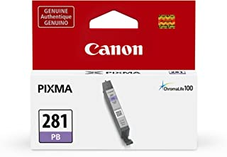 Canon CLI-281 Photo Blue Ink Tank Compatible to TS9120 Series,TS8120 Series, TS8220 Series