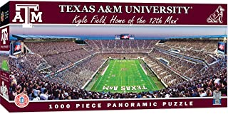 MasterPieces NCAA Texas A&M Aggies, Stadium Panoramic Jigsaw Puzzle, Kyle Field, 1000 Pieces