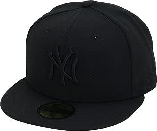 [ニューエラ] 5950キャップ ブラックロゴ ニューヨークヤンキース カラーアウト