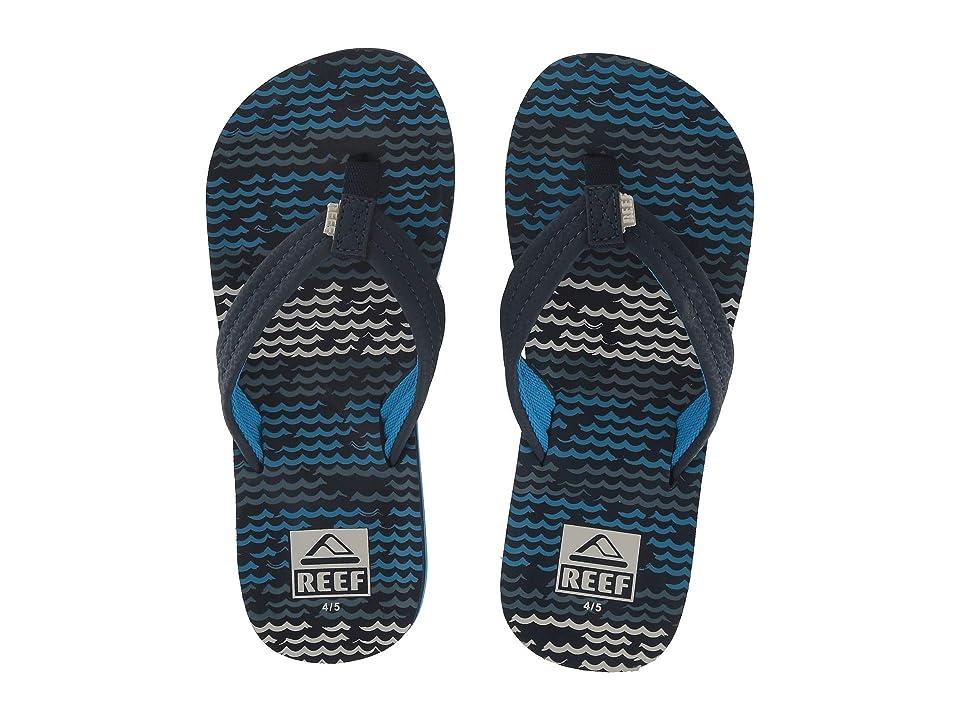 Reef Kids Ahi (Little Kid/Big Kid) (Blue Horizon Waves) Boys Shoes