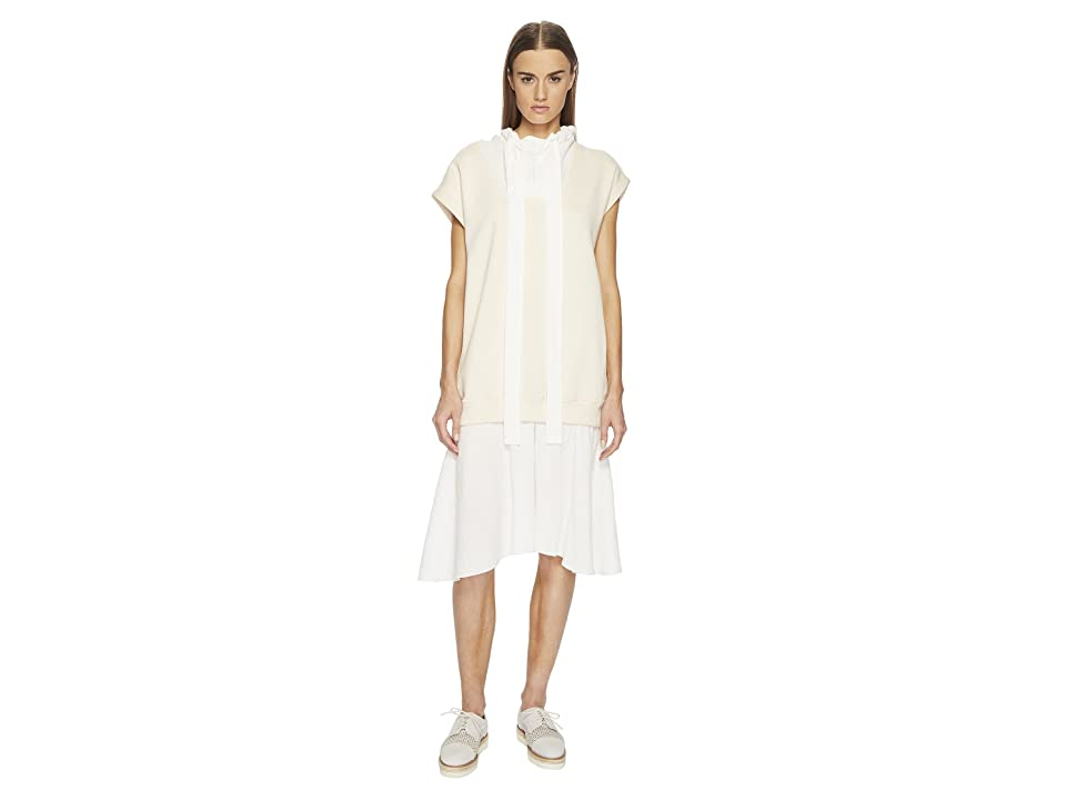 See by Chloe Dress with Fleece (Abstract White) Women
