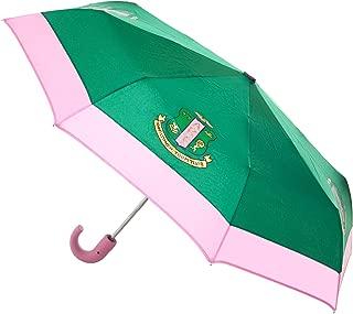 Alpha Kappa Alpha Green/Pink Mini Hurricane Umbrella
