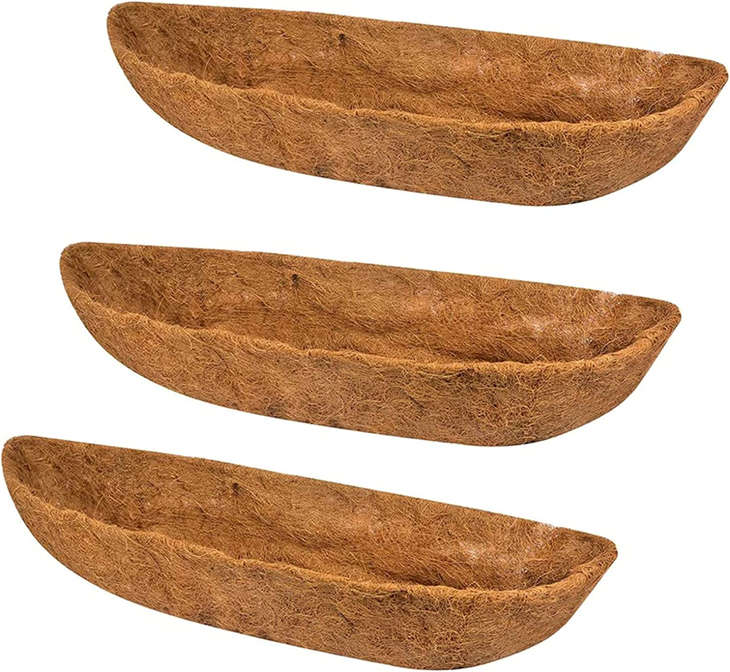 Bombing new work Ayybf 3-Packs Coco Ranking TOP13 Liner R Basket Wall Planter