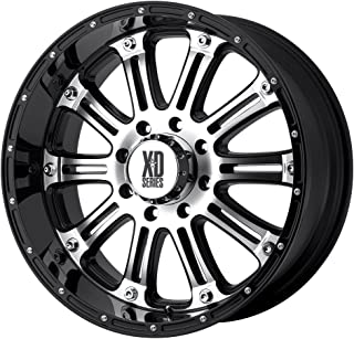 XD Series by KMC Wheels XD795 Hoss Gloss Black Wheel With Machined Face (16x8
