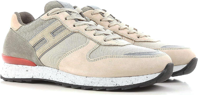 Hogan Herren HXM2610R676IHY0PD5 Beige Stoff Sneakers B07K8M366M  | Sale